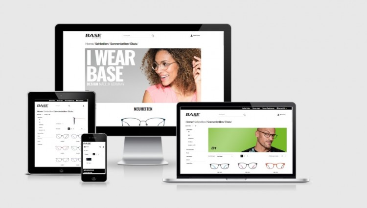 Base Eyewear - B2B Online-Shop mit shopware